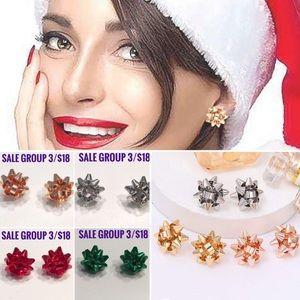 3/$18 Bow Stud Earrings